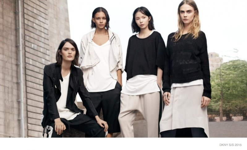 1. Kampania DKNY wiosna lato 2015