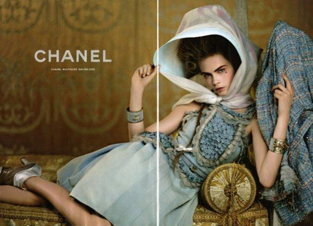 Cara Delevingne w kampanii Chanel resort 2013