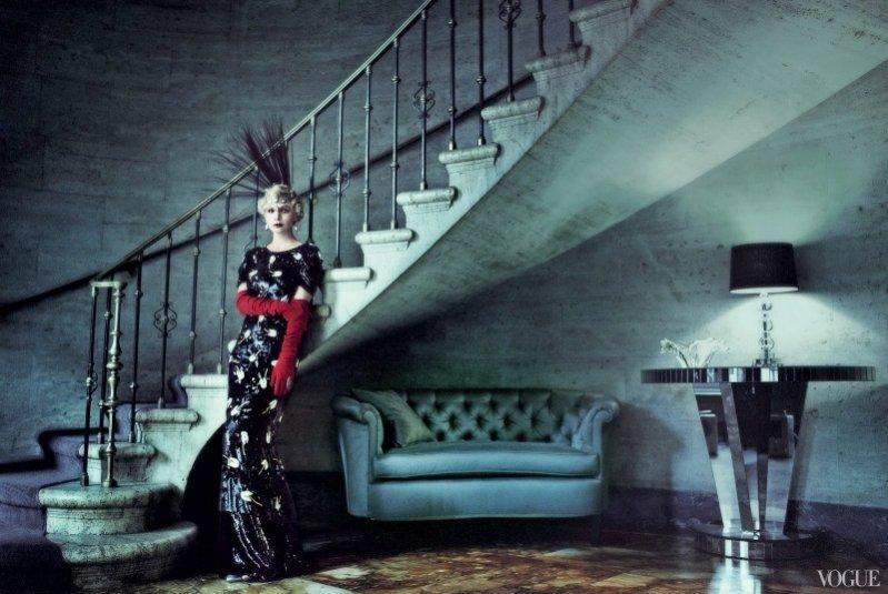Carey Mulligan w okładkowej sesji dla majowego Vogue US