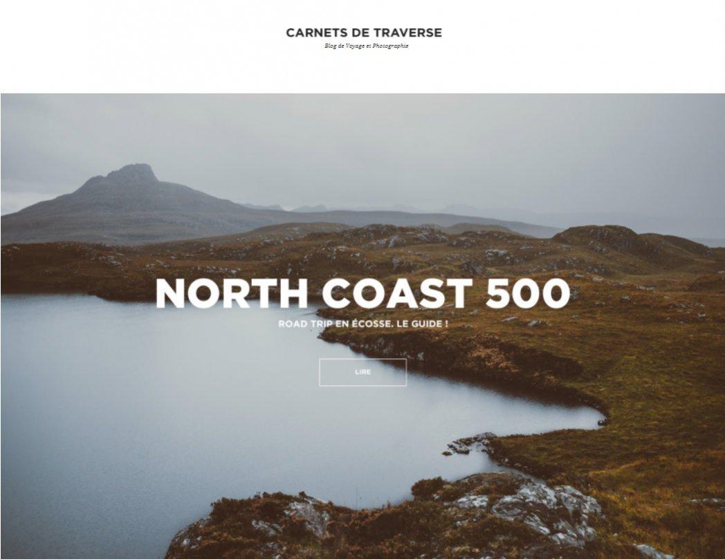 Najlepsze blogi podróżnicze: CARNETS DE TRAVESSE (1)