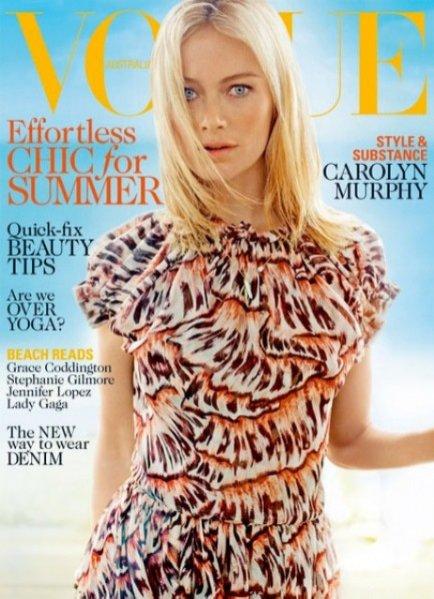 Carolyn Murphy, Vogue Australia
