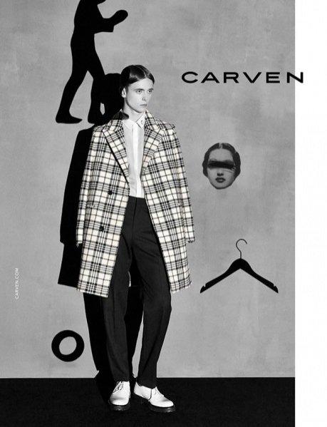 Kampania Carven, jesień-zima 2014/2015