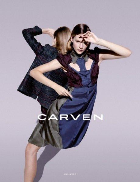 Carven kampania wiosna lato 2013