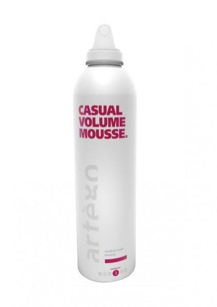 Produkty do stylizacji włosów od marki artègo - pianka Casual Volume Mousse 250ml/34,90PLN
