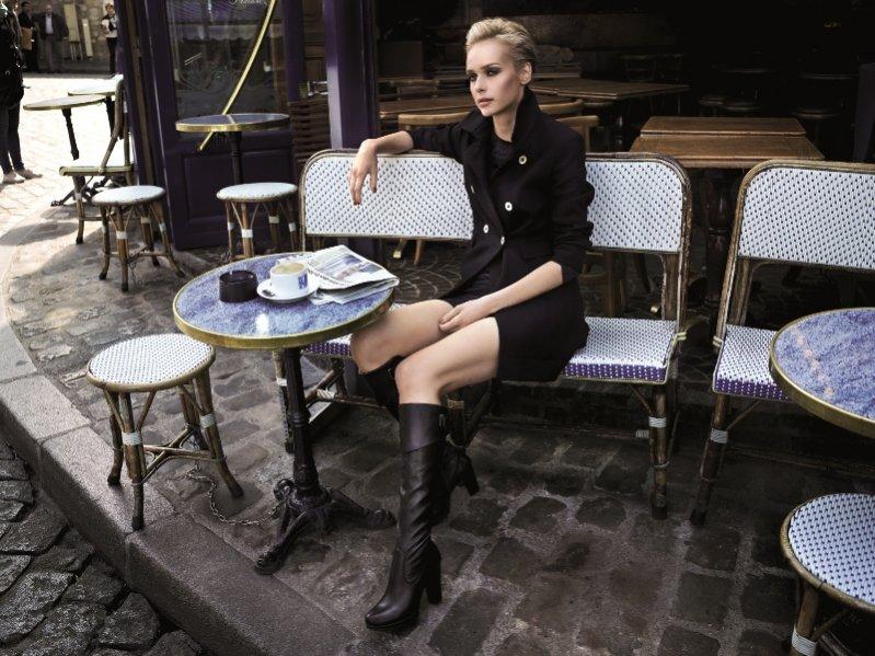 Magdalena Mielcarz w jesiennej kampanii marki CCC