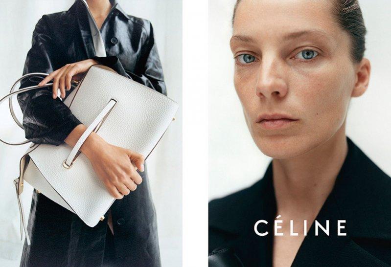 1. Daria Werbowy w kampanii Céline Resort 2015