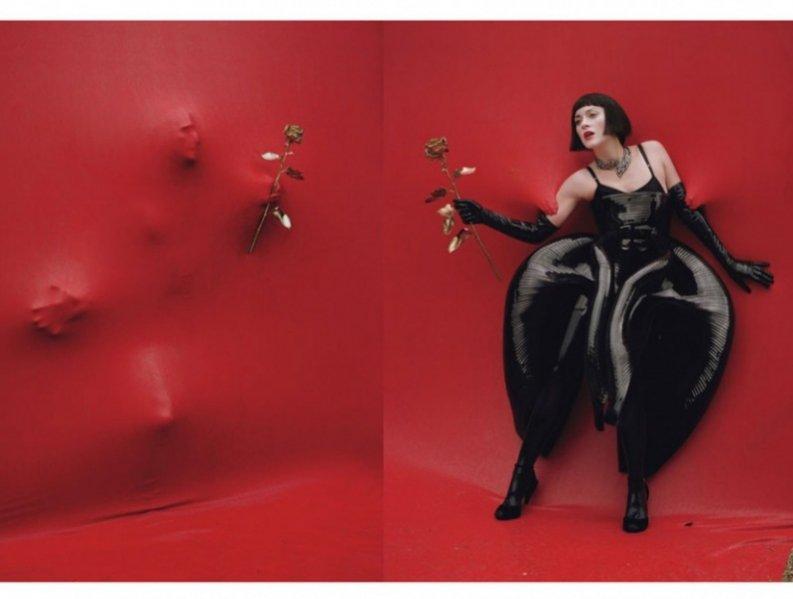 Marion Cotillard w grudniowym W Magazine
