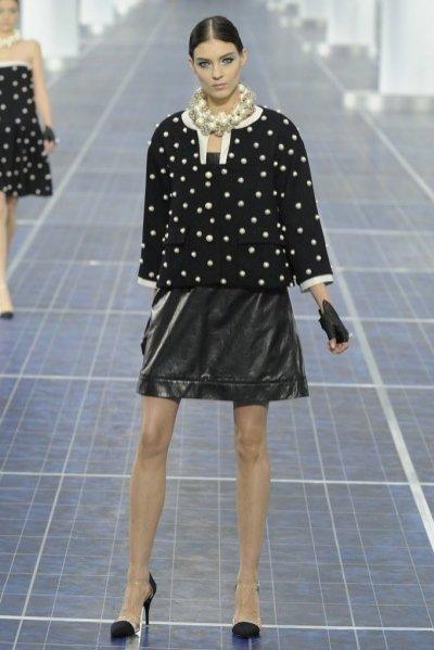 Pokaz kolekcji Chanel wiosna lato 2013