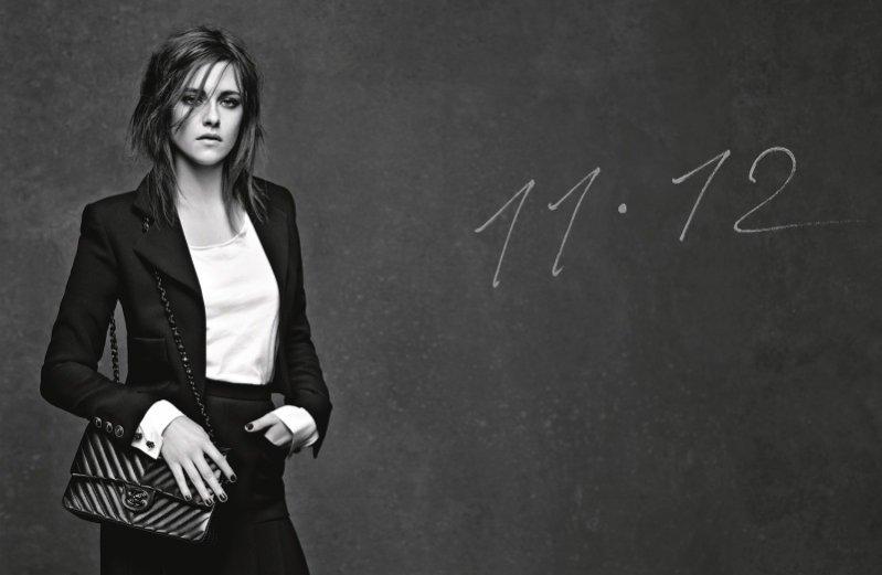 Kristen Stewart w nowej kampanii torebki Chanel 11.12