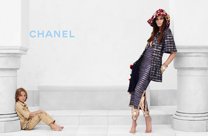 1. Joan Smalls w kampanii Chanel Cruise 2015