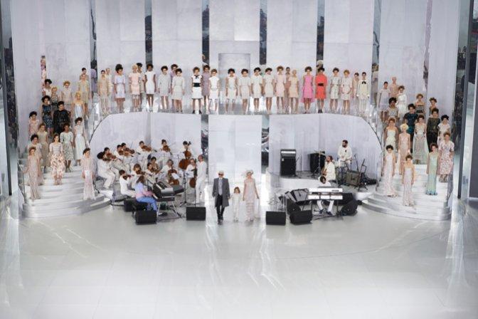Chanel - pokaz haute couture wiosna lato 2014