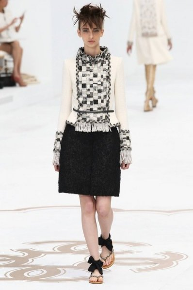 1. Chanel- pokaz kolekcji haute couture jesień zima 2014/2015