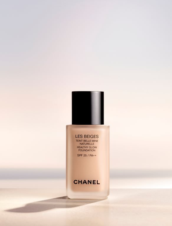 1. Chanel Les Beiges - podkład Healthy Glow Foundation na wiosnę 2016