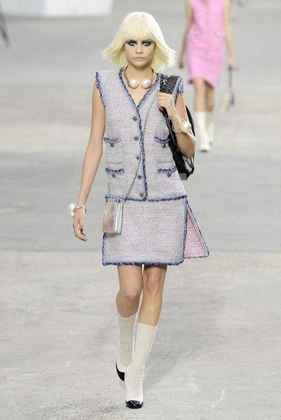 1. Chanel - kolekcja wiosna lato 2014