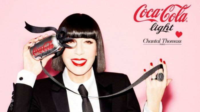 1.Chantal Thomass dla Coca-Cola Light