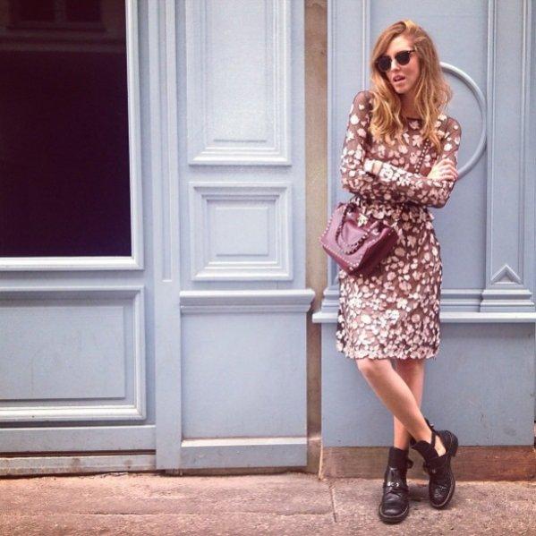 Chiara Ferragni - zoom na styl