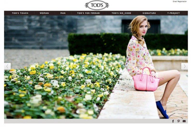 Chiara Ferragni dla TOD'S Touch
