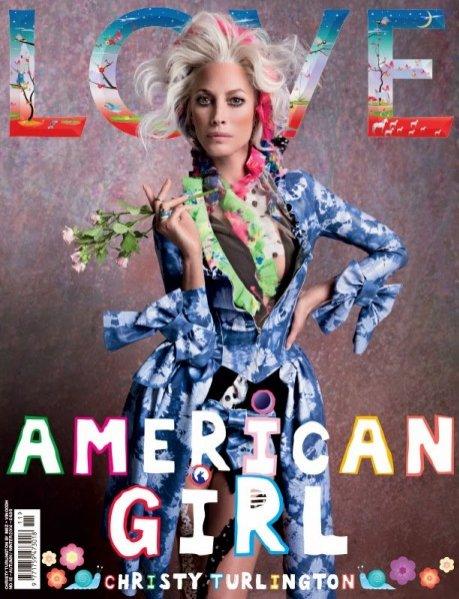 Christy Turlington na okładce LOVE Magazine, jesień zima 2014