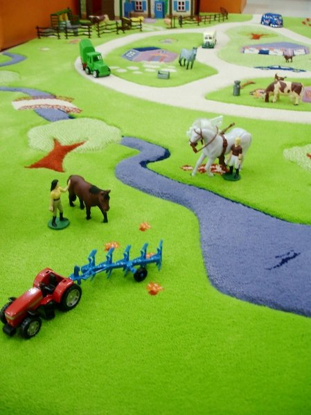 przestrzenne dywany Play i 3D