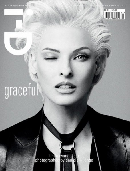 Okładka i-D Fall 2012 Graceful