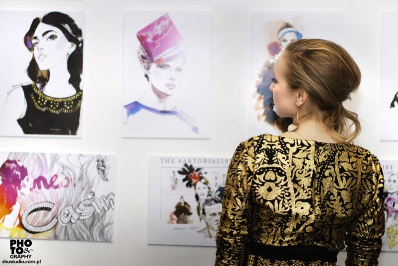 Anna Halarewicz wystawa Illustrations