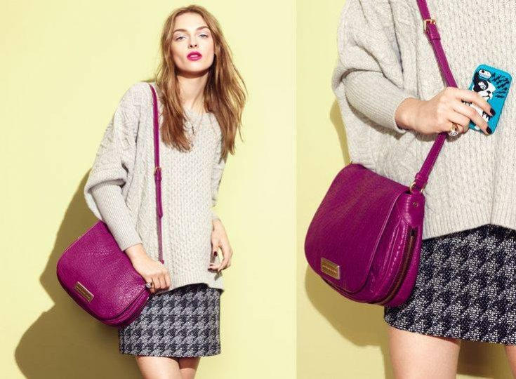 Daga Ziober w lookbooku Marc by Marc Jacobs