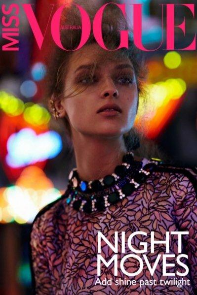 Daga Ziober w okładkowym edytorialu Miss Vogue Australia