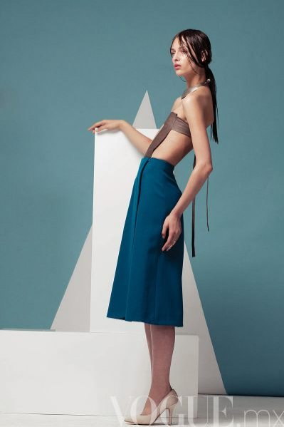 Daga Ziober w edytorialu w Vogue Latin America