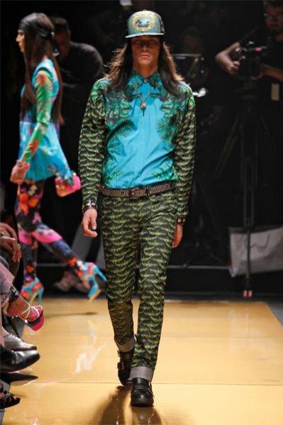 Pokaz kolekcji Versace dla H&M