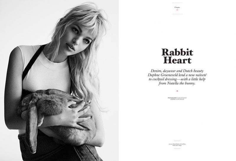 Daphne Groeneveld w sesji dla Twin Magazine