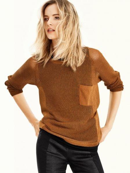 Daria Strokous w najnowszej kampanii H&M prezentuje obowiązujące trendy
