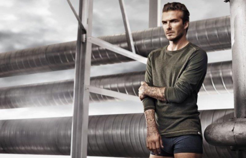 1. David Beckham w kampanii bielizny H&M wiosna 2014