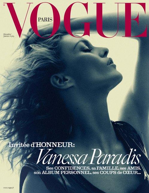 1. Vanessa Paradis w Vogue Paris