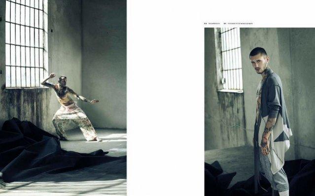 Dawid Auguścik dla And Men Magazine#17