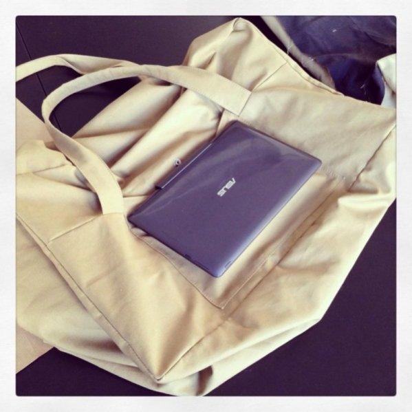 1. Dawid Woliński dla marki ASUS - torba na notebook Transformer Book T100