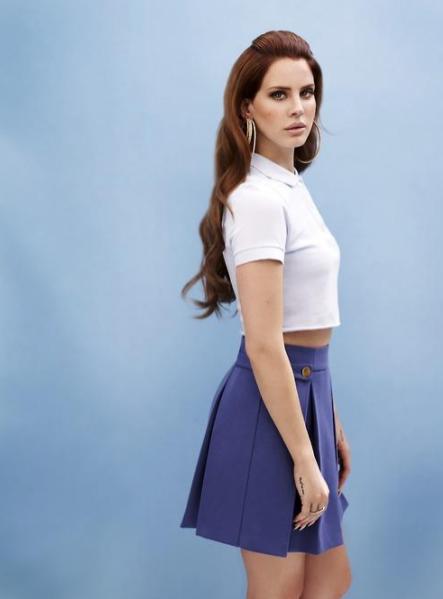 Lana Del Rey dla Versace