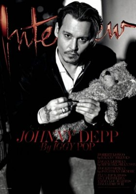 JOHNNY DEPP W EDYTORIALU INTERVIEW MAGAZINE
