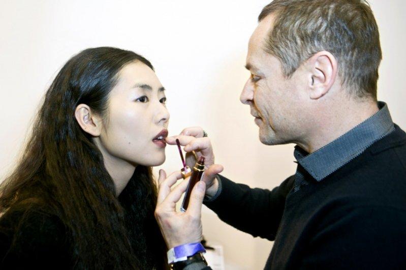 Backstage pokazu Derek Lam