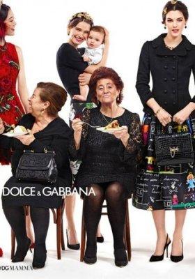 DOLCE & GABBANA – KAMPANIA JESIEŃ ZIMA 2015/2016