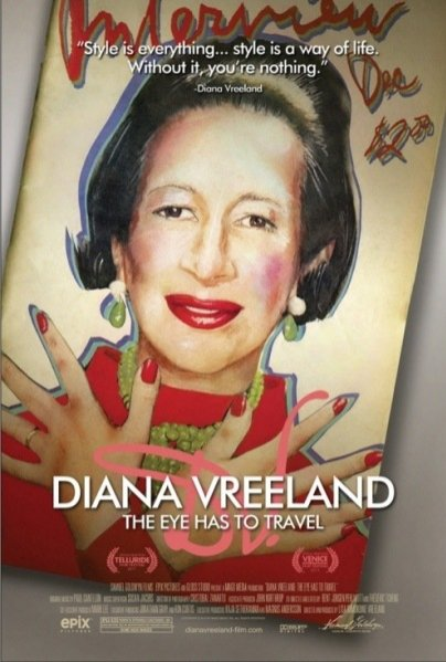 Diana Vreeland: The Eye Has To Traval