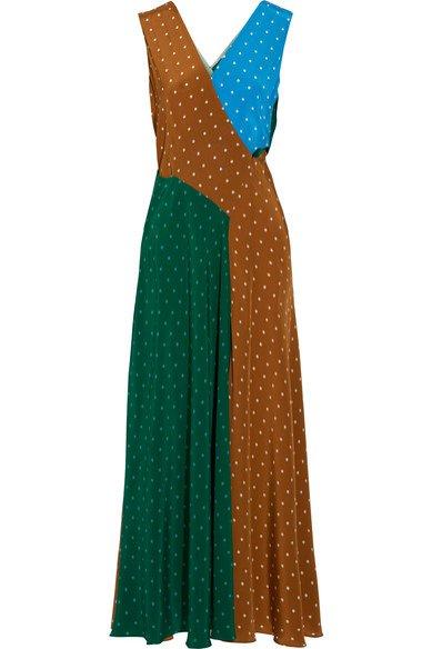 Długa sukienka w stylu retro, Diane von Furstenberg, 465 euro