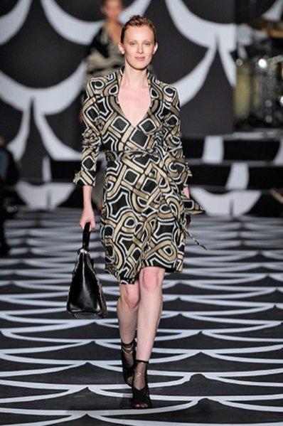 1. Diane Von Furstenberg – kolekcja jesień zima 4014/2015