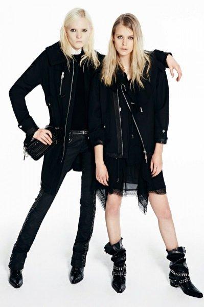 1 Maja Salamon i Stina Rapp w lookbook'u Diesel Black Gold Pre-Fall 2014