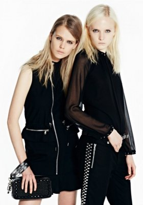 MAJA SALAMON W LOOKBOOKU DIESEL BLACK GOLD PRE-FALL 2014
