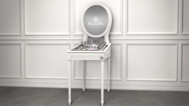 kadr z filmu Mise en Dior
