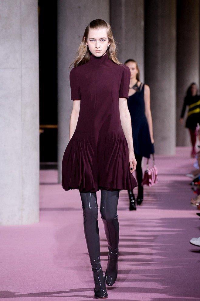 Nikola Celeban z New Age Models - pokaz Diora jesień zima 2015/16