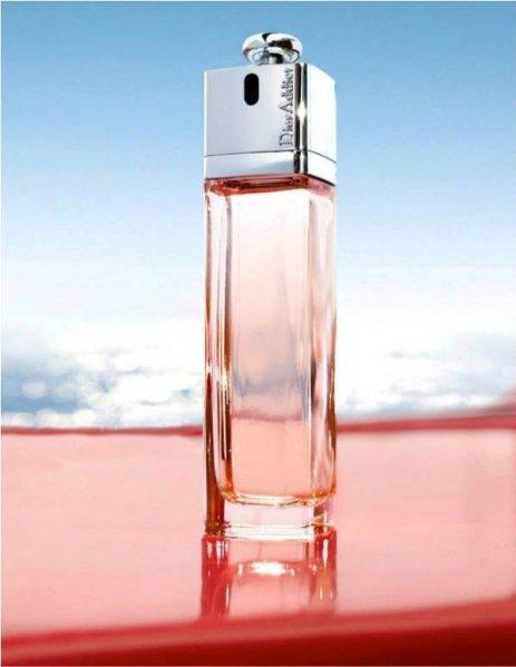 kampania nowego zapachu Dior Addict Eau Délice z Daphne Groeneveld