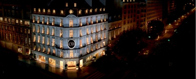 butik Christian Dior na Avenue Montaigne