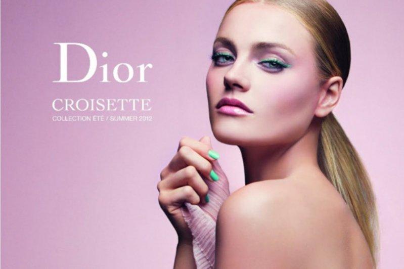 Anna Jagodzińska w kampanii reklamowej Dior Croisette Makeup lato 2012