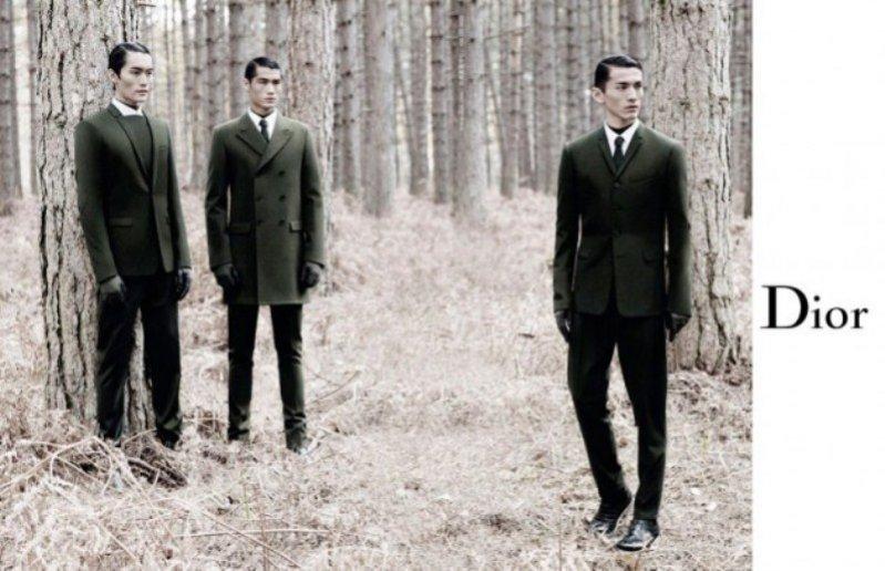 kampania Dior Homme na jesień zimę 2012